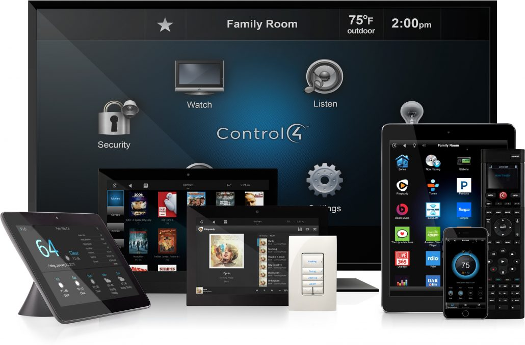 Digital Living is an Authorized Control4 Dealer