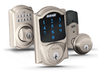 Schlage Locks and other keyless smart locks installed and integrated by digitalliving.com